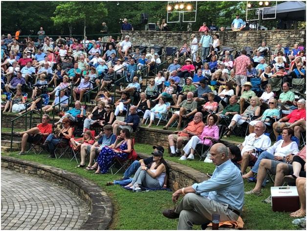 The Terraces Amphitheater Concert